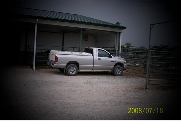 Vehicle used in moble visits
