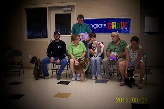 2012 Puppy Graduating Class 3