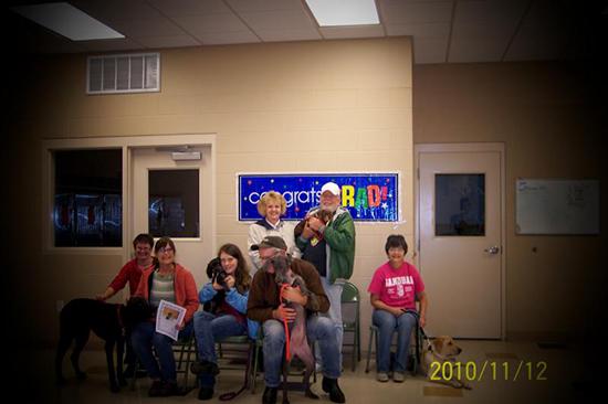 2010 Puppy Graduating Class 6