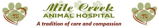 Staff at Mile Creek Animal Hospital