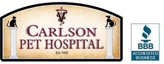 Carlson Pet Hospital logo - BBB Accredited Business