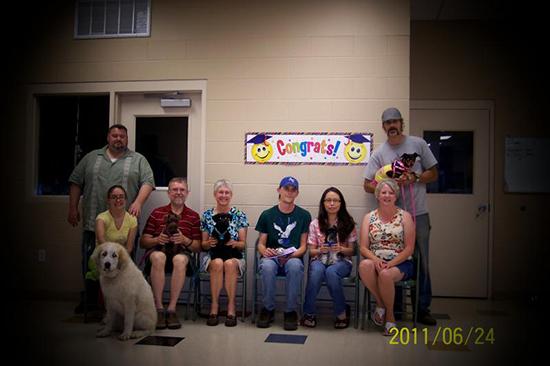 2011 Puppy Graduating Class 4
