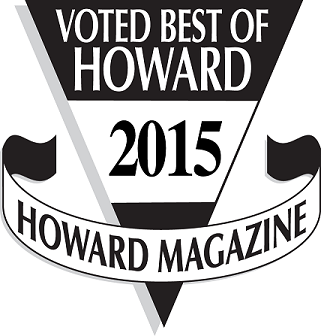 Voted #1 veterinary clinc in Howard County by the readers of Howard Magazine!