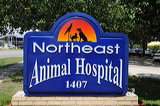 Animal Vet Sign Tallahassee FL