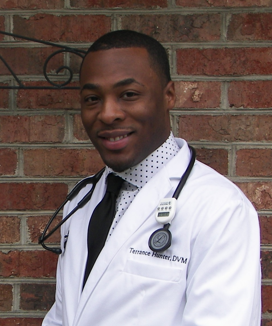 Terrance Hunter, Veterinarian