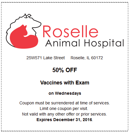 50% OFF Vaccines with Exam