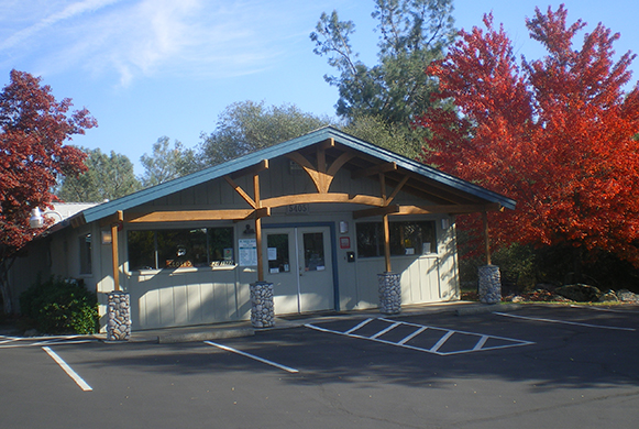 The outside of our veterinary hospital in Rocklin, CA