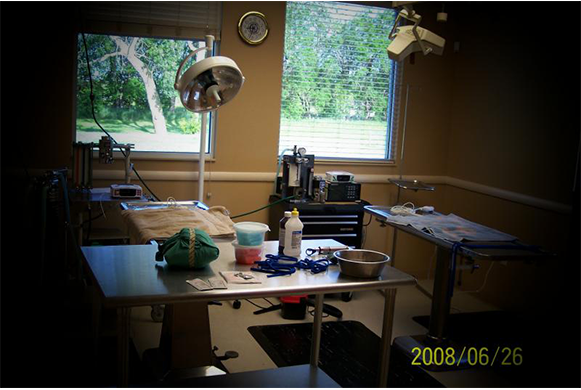 Operating room and surgical equipment