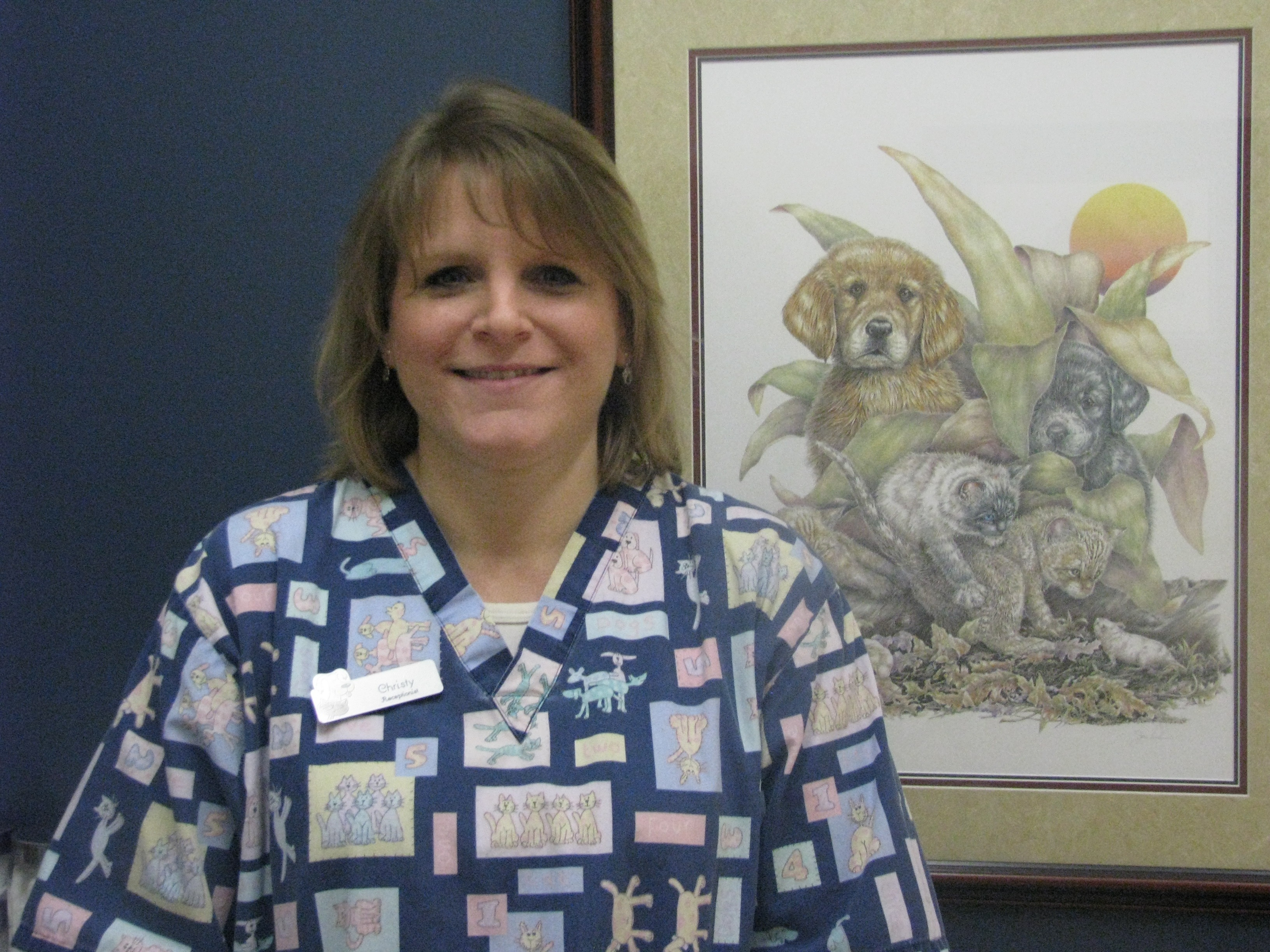 Christy Aldershoff - Receptionist Supervisor