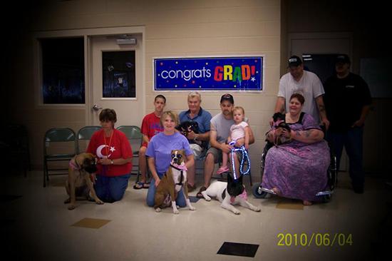 2010 Puppy Graduating Class 3