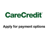 Apply for payment options. Care Credit