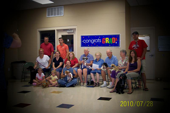 2010 Puppy Graduating Class 4