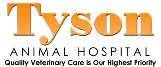 Tyson Animal Hospital, Quality veterinary care is our highest priority