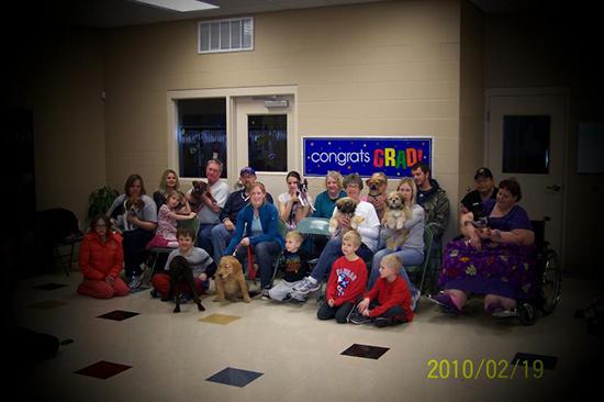 2010 Puppy Graduating Class 1