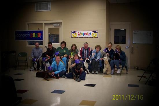 2011 Puppy Graduating Class 7