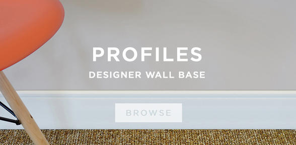 Profiles Designer Wall Base