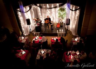 Valentine's Cabaret Event Set-up