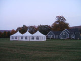 20x40 and 20x60 Peak Marquee Tents