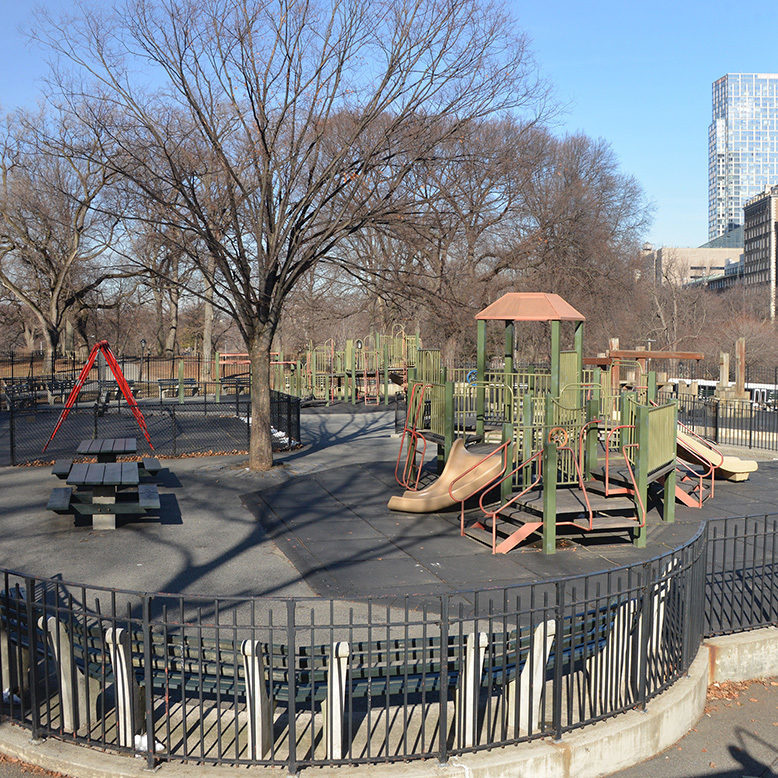 East 96th Street Playground, Before
