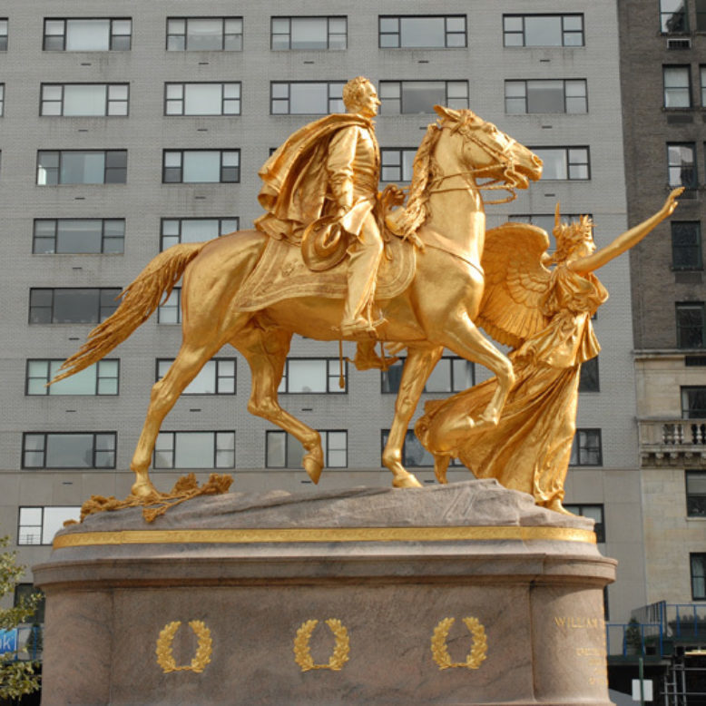 Sherman Statue