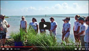 CCA Texas Oyster Lake Shoreline Restoration Project Completion