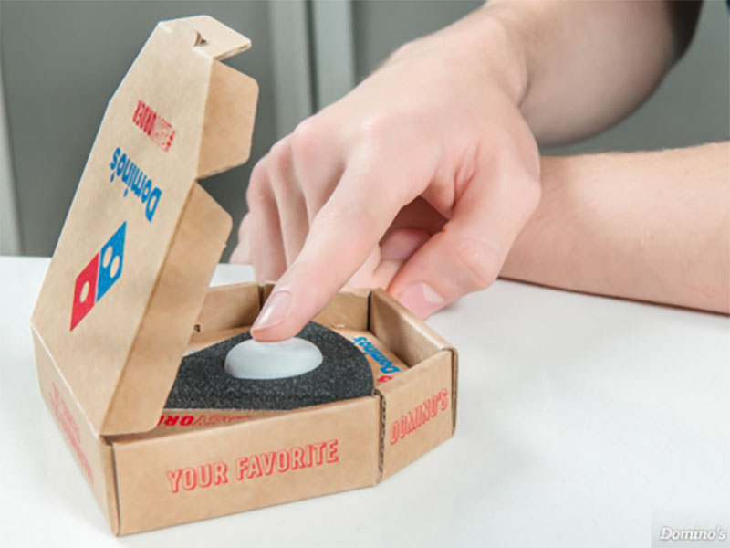 Domino's and the Physical Button you Press to Order Pizza