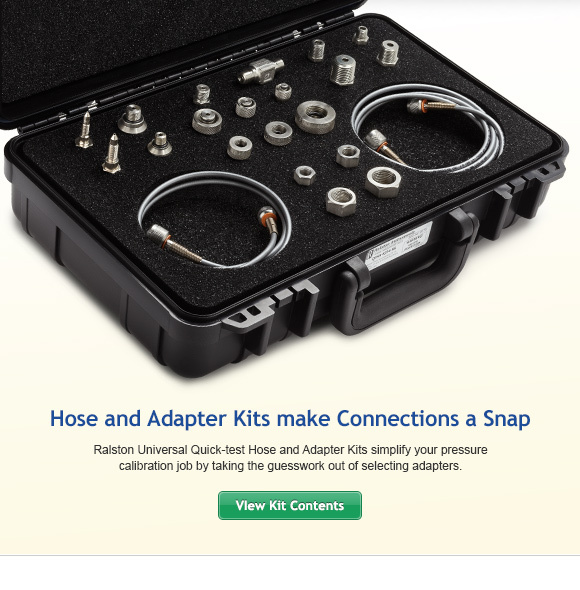 Ralston Universal Quick-test Hose and Adapter Kits