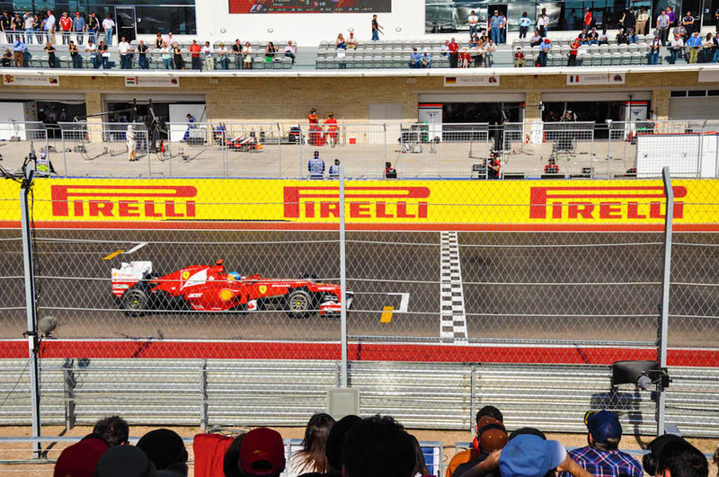 Formula-one-us-grand-prix-track-austin-texas-trackside-east-gold-b-finish-line-view-seating-circuit-of-the-americas-experiences