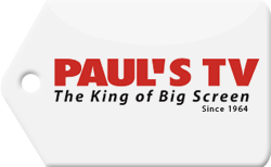 Paul's TV- King of Big Screen Coupon Code