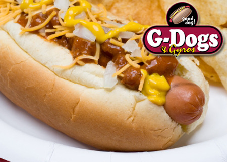 G-Dogs Hots Dogs and Gyros Deal Image