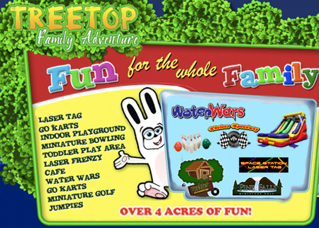 Tree Top Family Adventure Deal Image