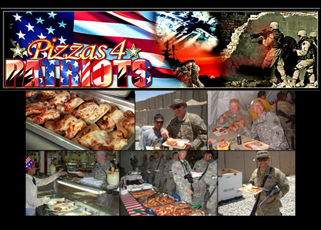 Pizzas 4 Patriots Deal Image