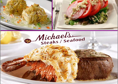 Michael's Steaks and Seafood Deal Image