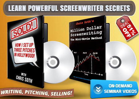 Million Dollar Screenwriting Deal Image