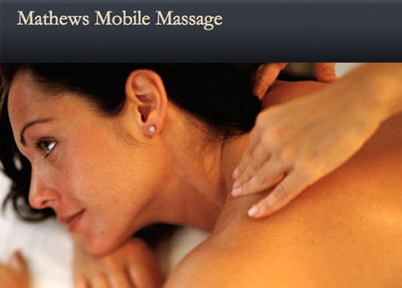 Mathews Mobile Massage Deal Image