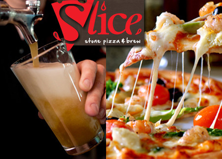 Slice Pizza and Brewhouse Deal Image