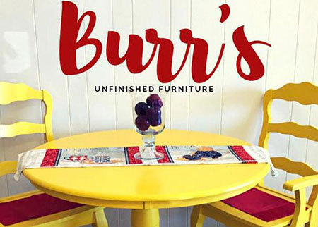 Burr's Unfinished Furniture Deal Image