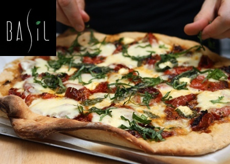 Basil Gourmet Pizza & Wine Bar Deal Image