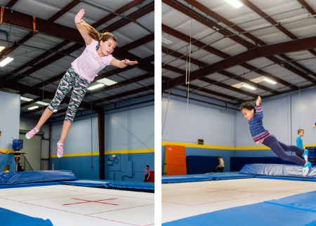 Springtime Tumbling and Trampoline Deal Image