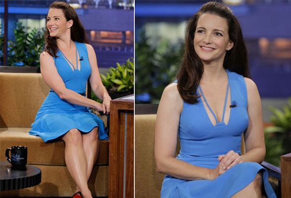 Kristin davis late night show