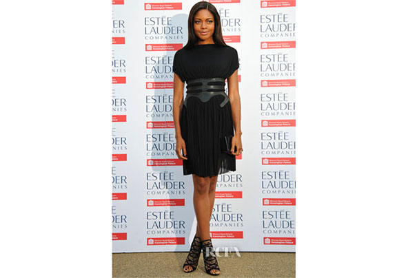 Naomie harris in marios schwab fashion rules exhibition