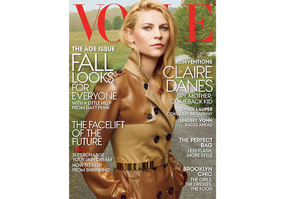 Claire danes cover story