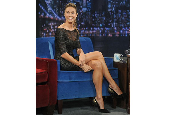 Stacy keibler  late night with jimmy fallon