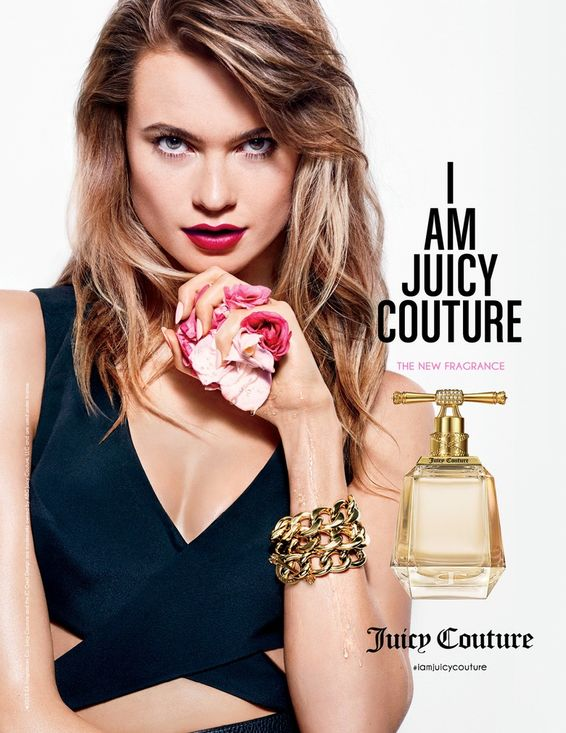 Behati prinsloo juicy couture fragrance