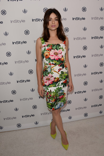 Crystal reed arrivals 12th annual instyle gn80amybl sl