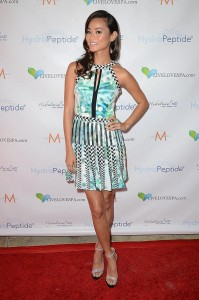 Jamie chung dress live love spa splash event 4 199x300