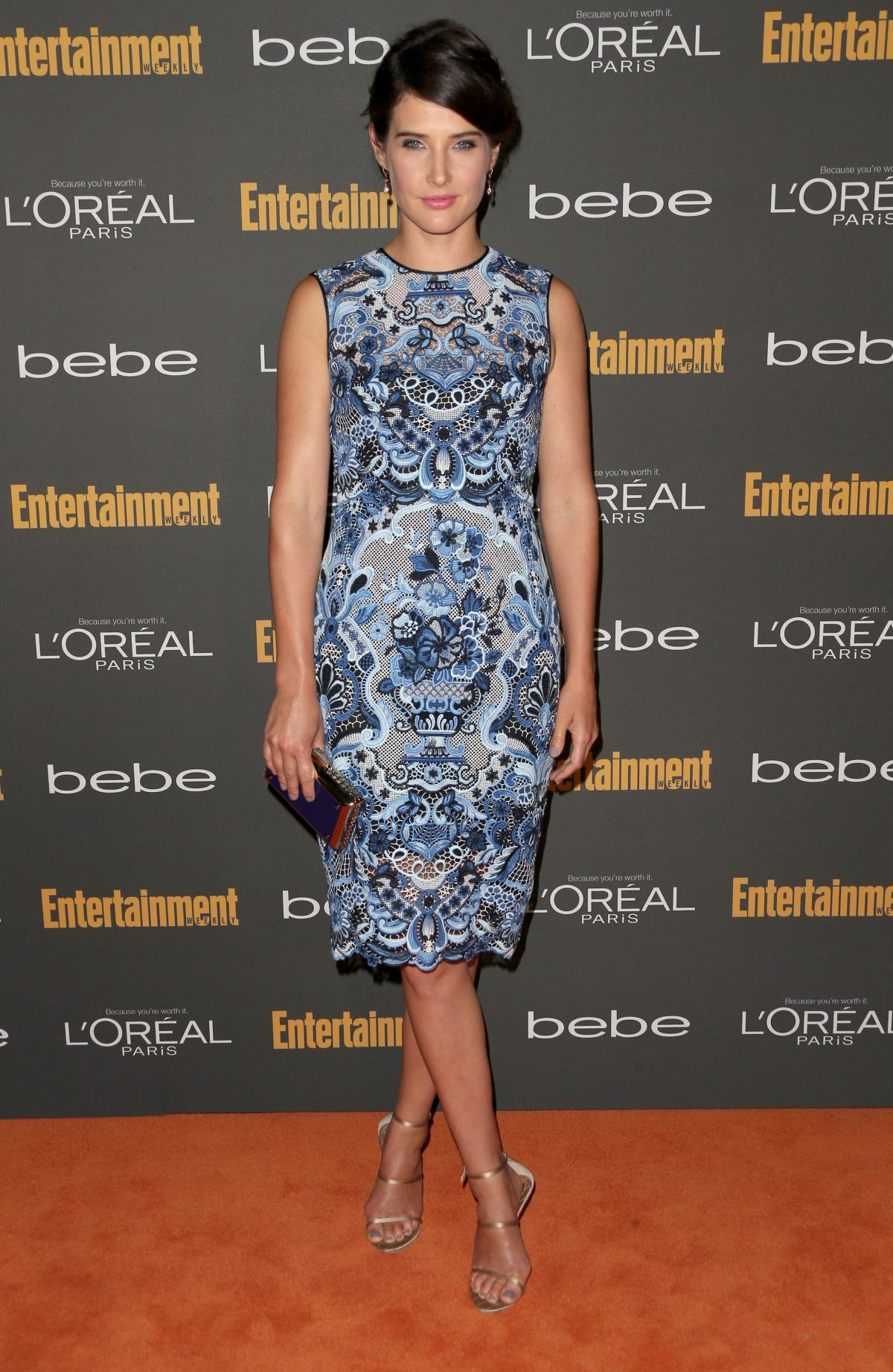 Cobie smulders at entertainment weekly s pre emmy party in west hollywood 1