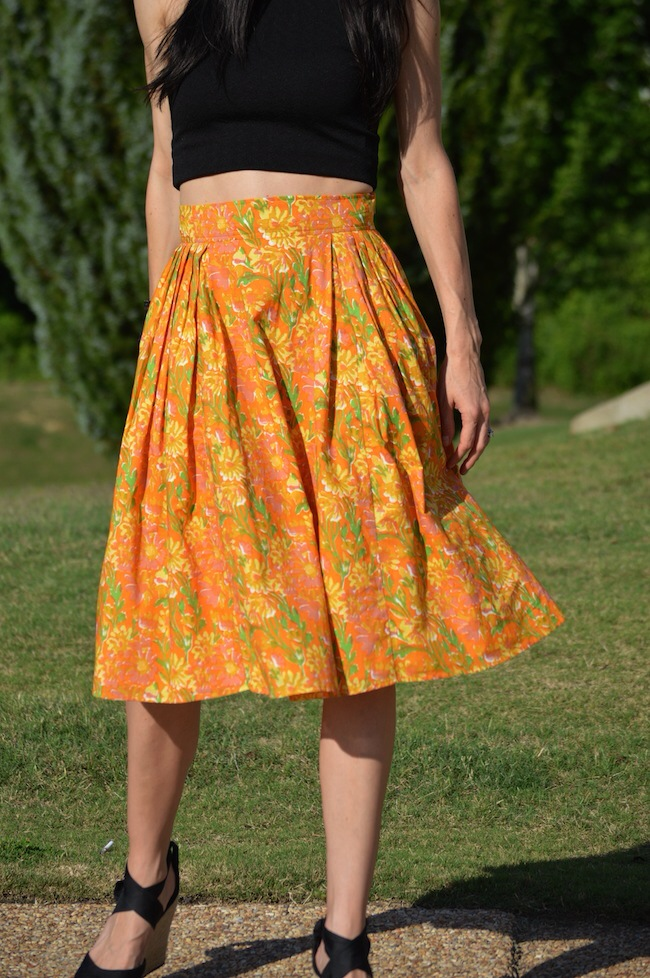 f6b6f623827a High Waisted Skirt + Crop Top - D Marie