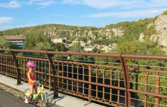 Inauguration de la Via Ardèche