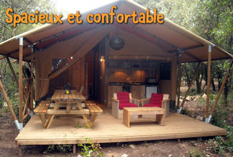 Votre Safari Lodge (35 m² intérieur + 15 m² extérieur)